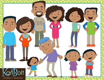 Family Clip Art COMBO