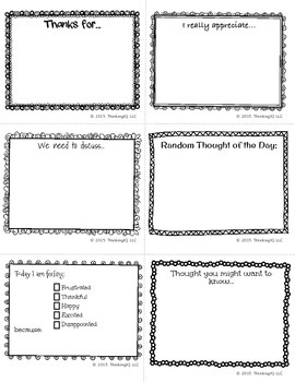 Family Communication Notes