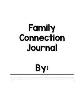 Family Connection Journal