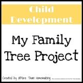 Family & Consumer Sciences: Child Development: My Family Tree