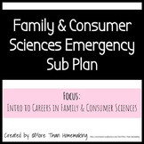 Family & Consumer Sciences Emergency Sub Plan - Intro to Careers
