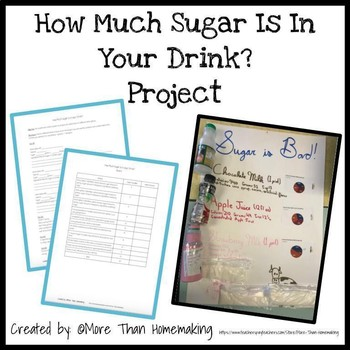 Family & Consumer Sciences: How Much Sugar Is In Your Drink? Project