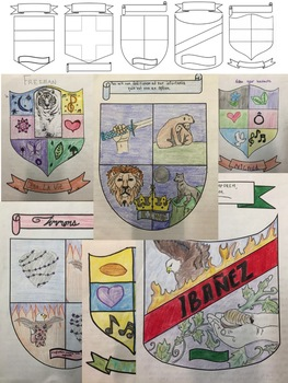 Family Crest / Coat of Arms: Directions and Example