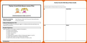 Family Crisis & Child Abuse Lesson