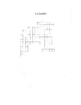 Family Crossword Puzzle