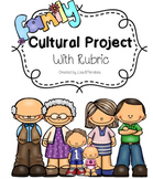 Family Cultural Project - Editable