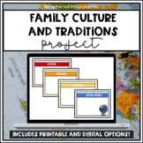 Family Culture and Traditions Project
