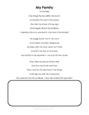 Family Day Resource Pkg - Poems, Puzzles, Family Tree, Writing Template