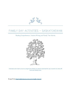 Family Day in Saskatchewan