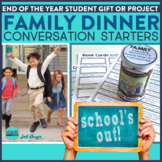 First Week of School Activities - Family Conversation Starters