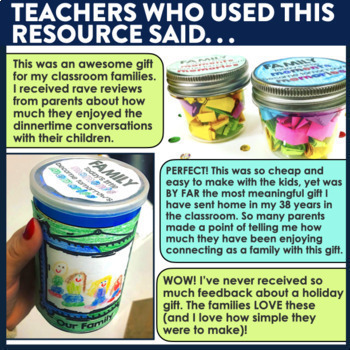 THANKSGIVING | Gift for Students to Make |