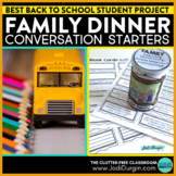 BACK TO SCHOOL Distance Learning CRAFT Family Activity Pro