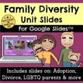 Family Diversity Unit Divorce Adoption LGBTQ Parents for G