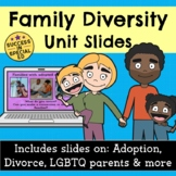 Family Diversity Unit Slides Presentation Divorce Adoption
