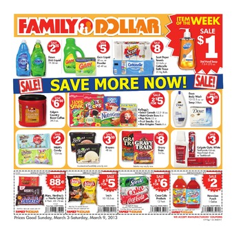 Family Dollar Store Ad