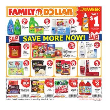 Family Dollar Store Ad