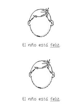 Family Emotions in Spanish (Los sentimientos en español)