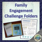 Family Engagement Challenge Folders (YEAR-LONG Homework)