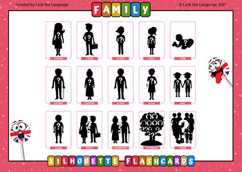 Family - English Flashcards