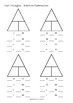 Family Fact Triangles - Addition/Subtraction and Multiplication/Division