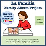 Family Familia Album / Book Project  W/ RUBRIC