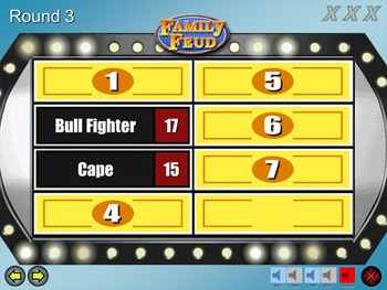 family feud excellent quality powerpoint template mac pc by think games. Black Bedroom Furniture Sets. Home Design Ideas