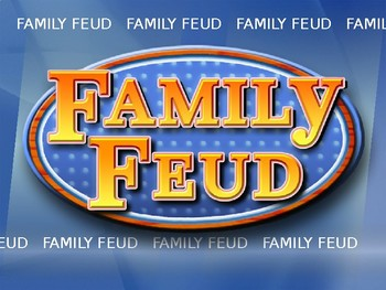 Family Feud Review Game Avancemos 3 Unit 4