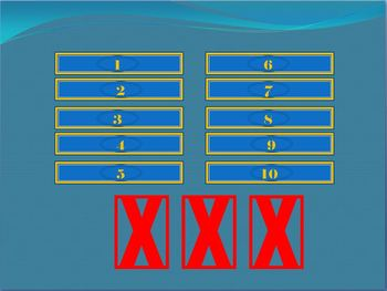 Family Feud Review Game Template