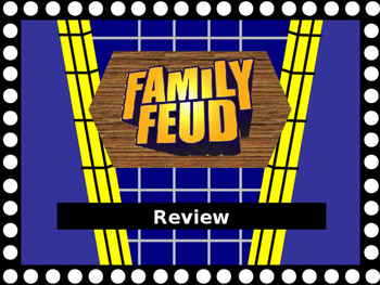 family feud template teaching resources | teachers pay teachers, Powerpoint templates