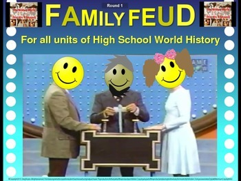 Family Feud! fun World History review game: Cold War (1945