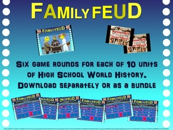 Family Feud! fun World History review game: Influences on Western World (1/10)