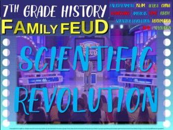 Family Feud! interactive PPT game for 7th grade: Scientifi