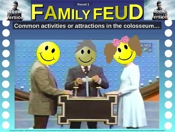 Family Feud! interactive PPT game for 7th grade history: Medieval Europe Version
