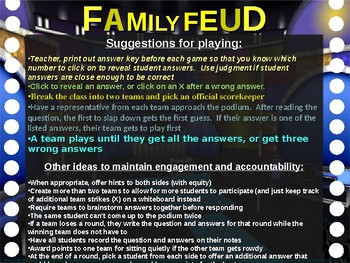 Family Feud! interactive review game: AUSTRALIA TRIVIA