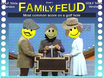 Family Feud! interactive review game: GOLF TRIVIA