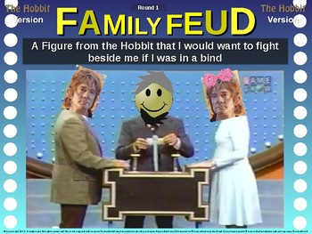 Family Feud! interactive review game: HOBBIT TRIVIA