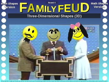 Family Feud! interactive review game: MATH SHAPES TRIVIA
