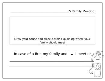 Family Fire Plan