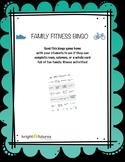 Family Fitness Bingo
