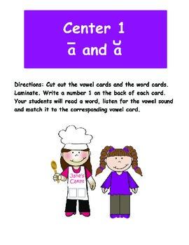 Family Fun Literacy Centers: Half-Pint Readers Set 15