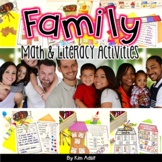 Family Fun - Math and Literacy Activities by Kim Adsit