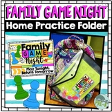 Family Game Night Starter Bundle   (A Homework Alternative)