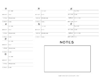 Family Group Sheet for Genealogy and Family History - Large