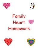 Family Heart Homework