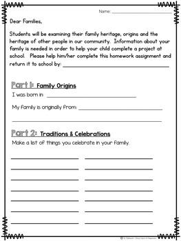 Family Heritage Flip Book