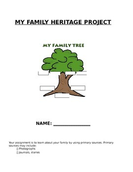 Family Heritage Project