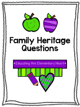 Family Heritage Questionnaire