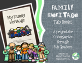 Family Heritage Tab Book for K-5