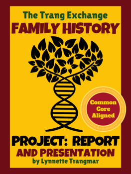 Family Heritage Project: Report, Presentation, Feast (FREE!)