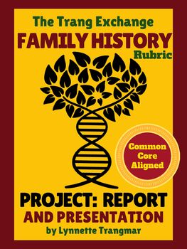 Family Heritage Project Rubric: Perfect Before the Holidays (FREE!)